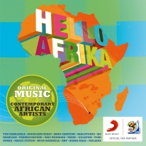 hello afrika album cover with sticker