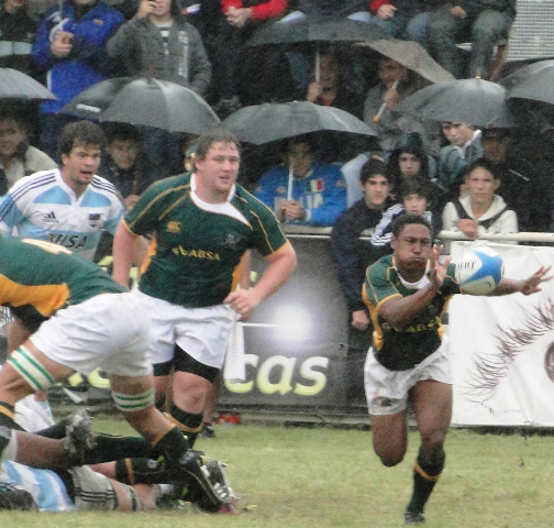 Goosen Steers SA U20s To Argentinean Double