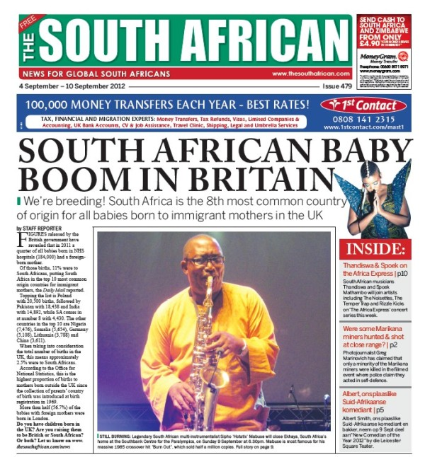 "Ekhaya to close with show by Sipho ""Hotstix"" Mabuse 