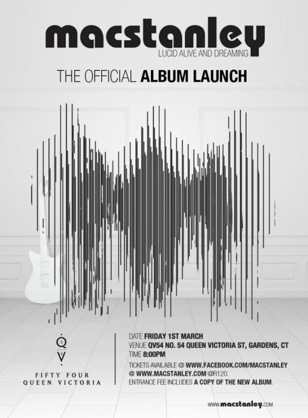 Macstanley Official Launch – Lucid, Alive and Dreaming at QV54