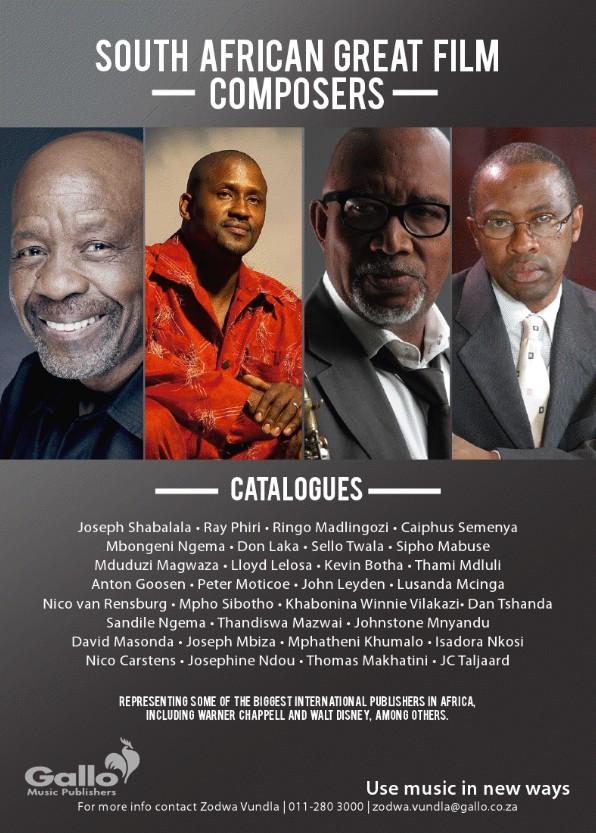 South Africa Great Film Composers