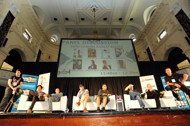 World Class Producers Tristan Keyte, Brian O'Shea, Charles Webster Talk 21st Century Production at Music Exchange