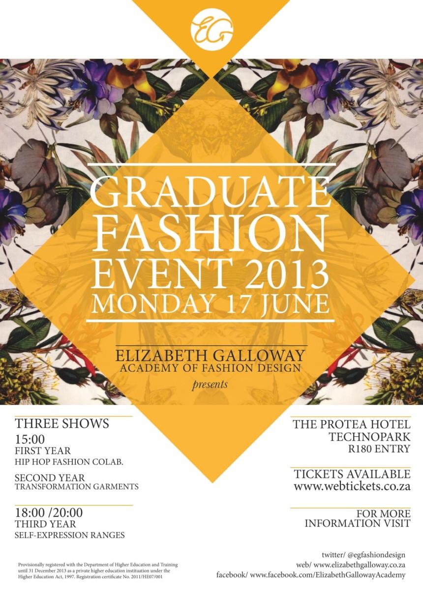 Elizabeth Galloway Graduate Fashion Event 2013 Monday 17 June