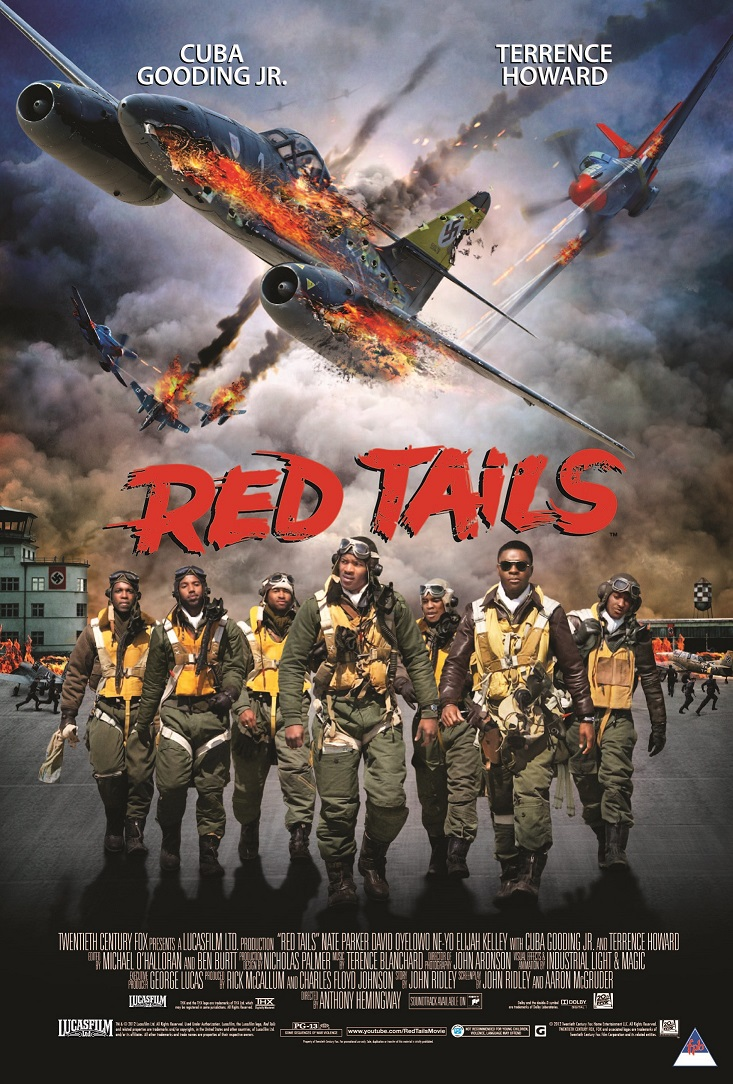 Red Tails inspired by the high-flying, heroics of Tuskegee ...