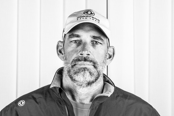 Stu Bannatyne portrait. Dongfeng Race Team.  Photo by Jen Edney/Volvo Ocean Race. 24 November, 2017.